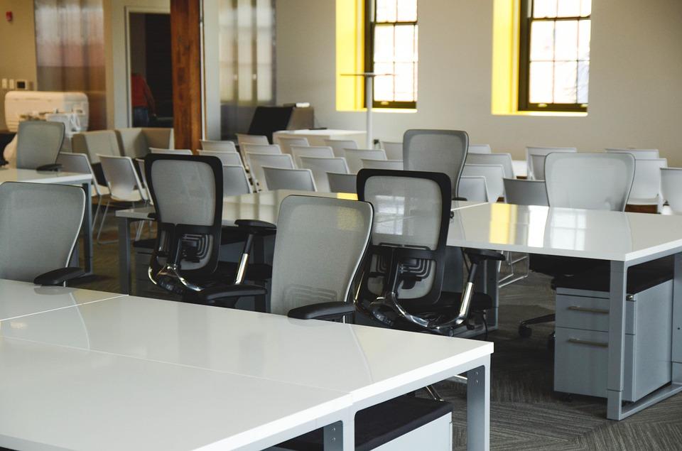 interior cladire de birouri