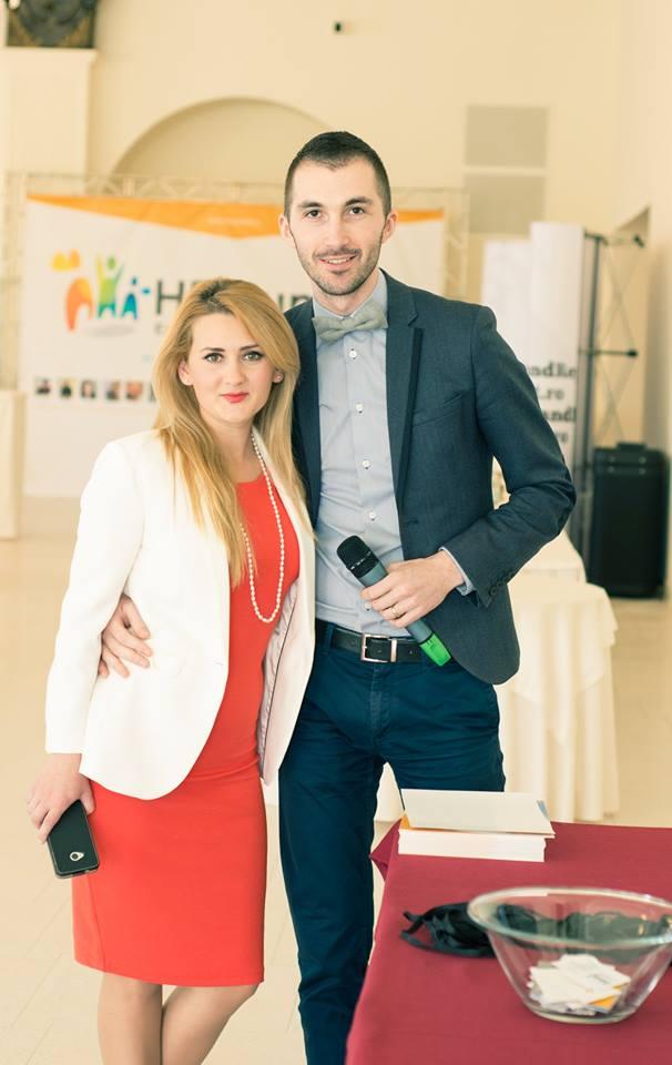 aprilie 2014 la HR Summit alaturi de Bogdan Ciocian