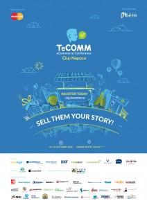 Afis TeCOMM Cluj 2016