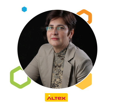 Gabriela Nita, HR Manager Altex Logistic Distribution