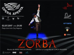 Afis OPERA APERTA - ZORBA, 2iulie