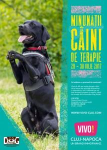 Minunaţii câini de terapie vin la VIVO