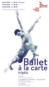 Afis Ballet a la Carte_Premiera, 18.01.2018