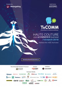 Afis TeCOMM Bucuresti