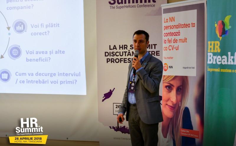 HR Summit Timisoara - Costin Tudor