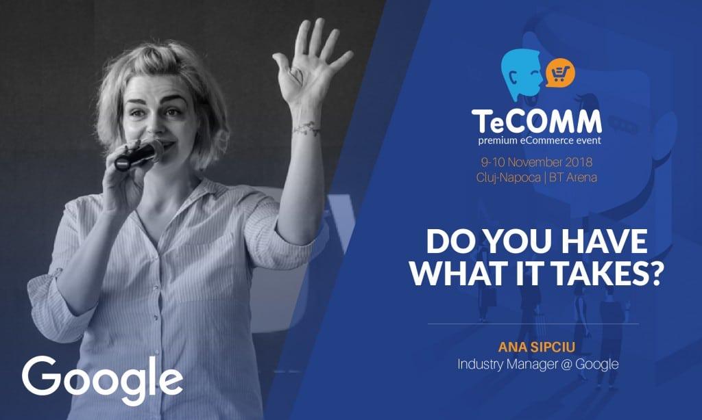 ANA SIPCIU - speaker tecomm